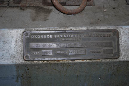 O'Connor Marine Steam Engine