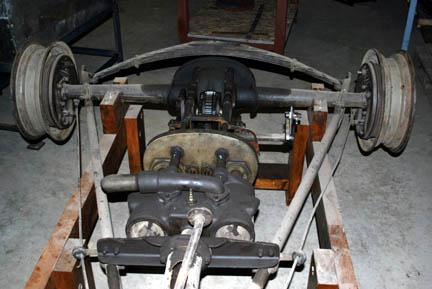 Stanley Steamer Car >> Kimmel Steam Engine Collection: 20 hp Stanley Steamer- 1938 Ford axle