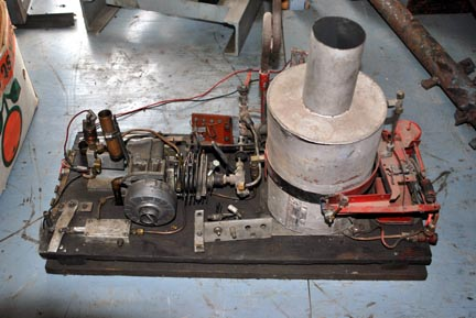 john wetz table top steam engine - Homemade Steam Generator Plans
